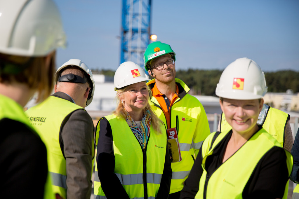 Infrastrukturministern Anna Johansson